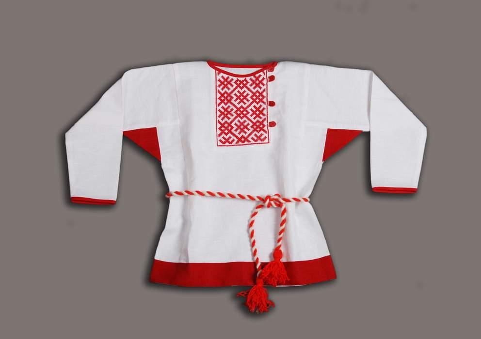 Рубаха в русском народном стиле сшить 93
